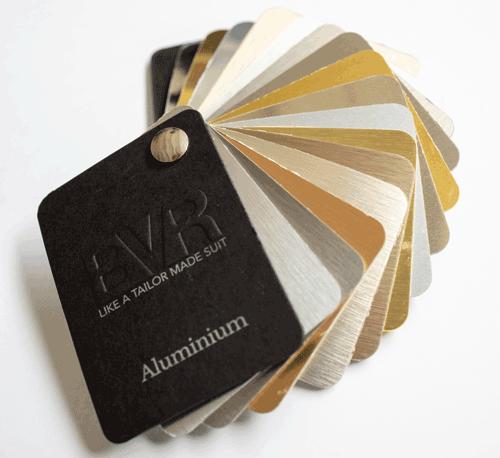 bordature alluminio colori bvr